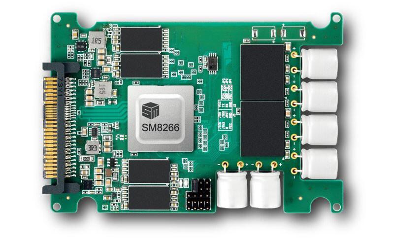 Silicon Motion anuncia el controlador SSD PCIe Gen4 NVMe SM8266 de 16 canales