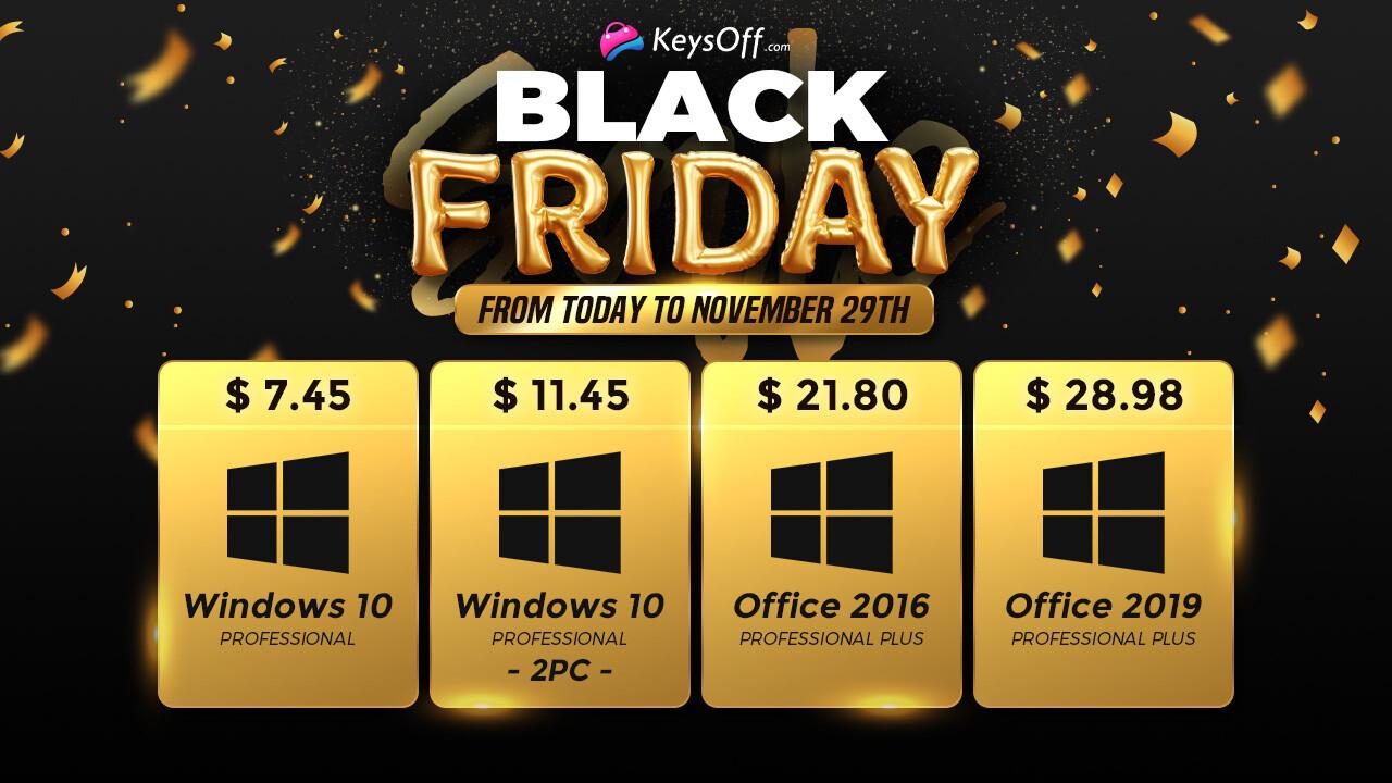 KeysOff presenta la locura de los descuentos: obtenga los precios más bajos en la web por software genuino