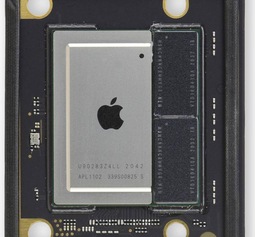 Supuesta superficie de especificaciones del procesador Apple M1X