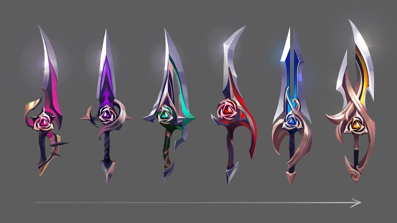 Espadas de League of Legends