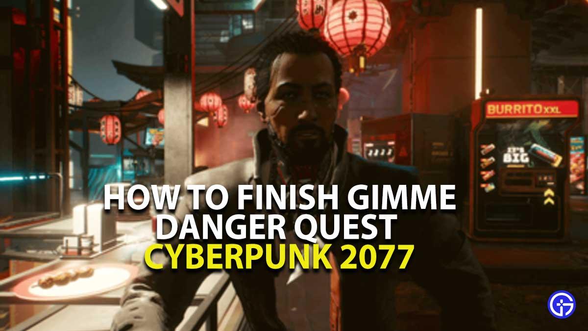Gimme Danger Quest Walkthrough