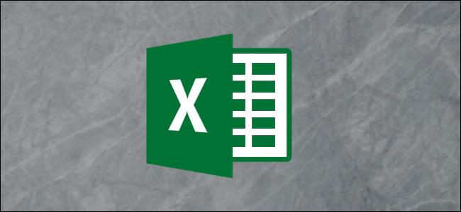 Logotipo de Excel sobre un fondo gris