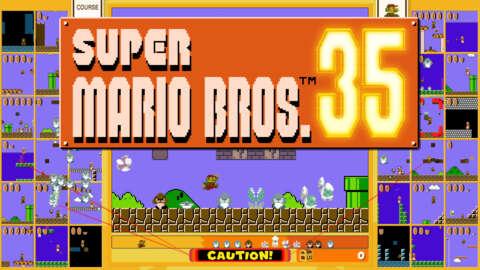 El evento final de Super Mario Bros35 World Count Challenge comienza el 23 de marzo
