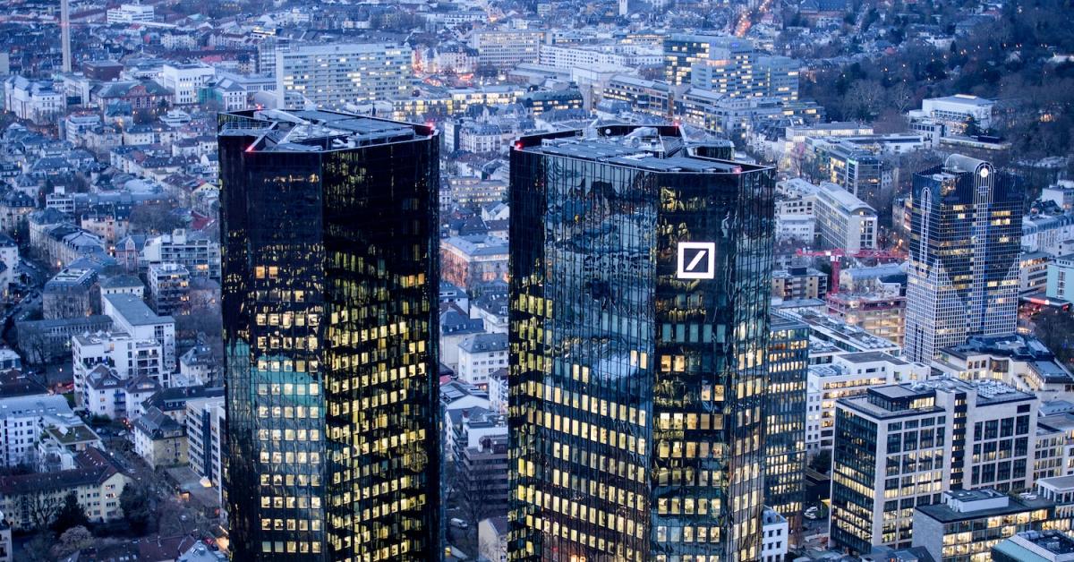 Deutsche Bank planea silenciosamente ofrecer custodia de criptomonedas, corretaje principal: CoinDesk