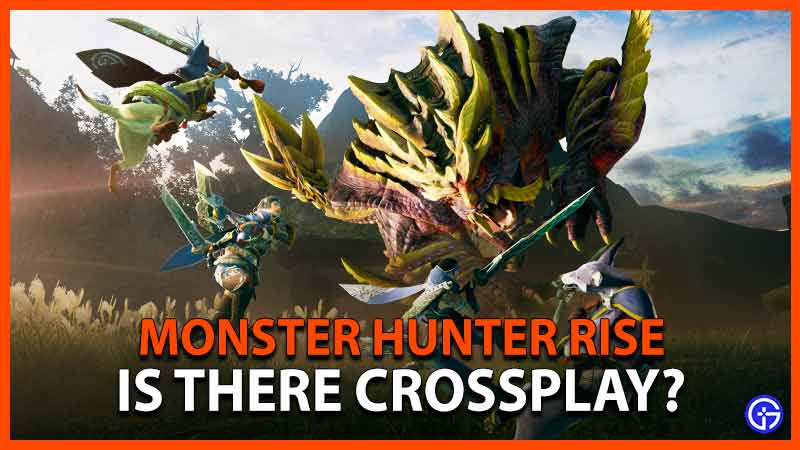 Monster Hunter Rise Juego cruzado