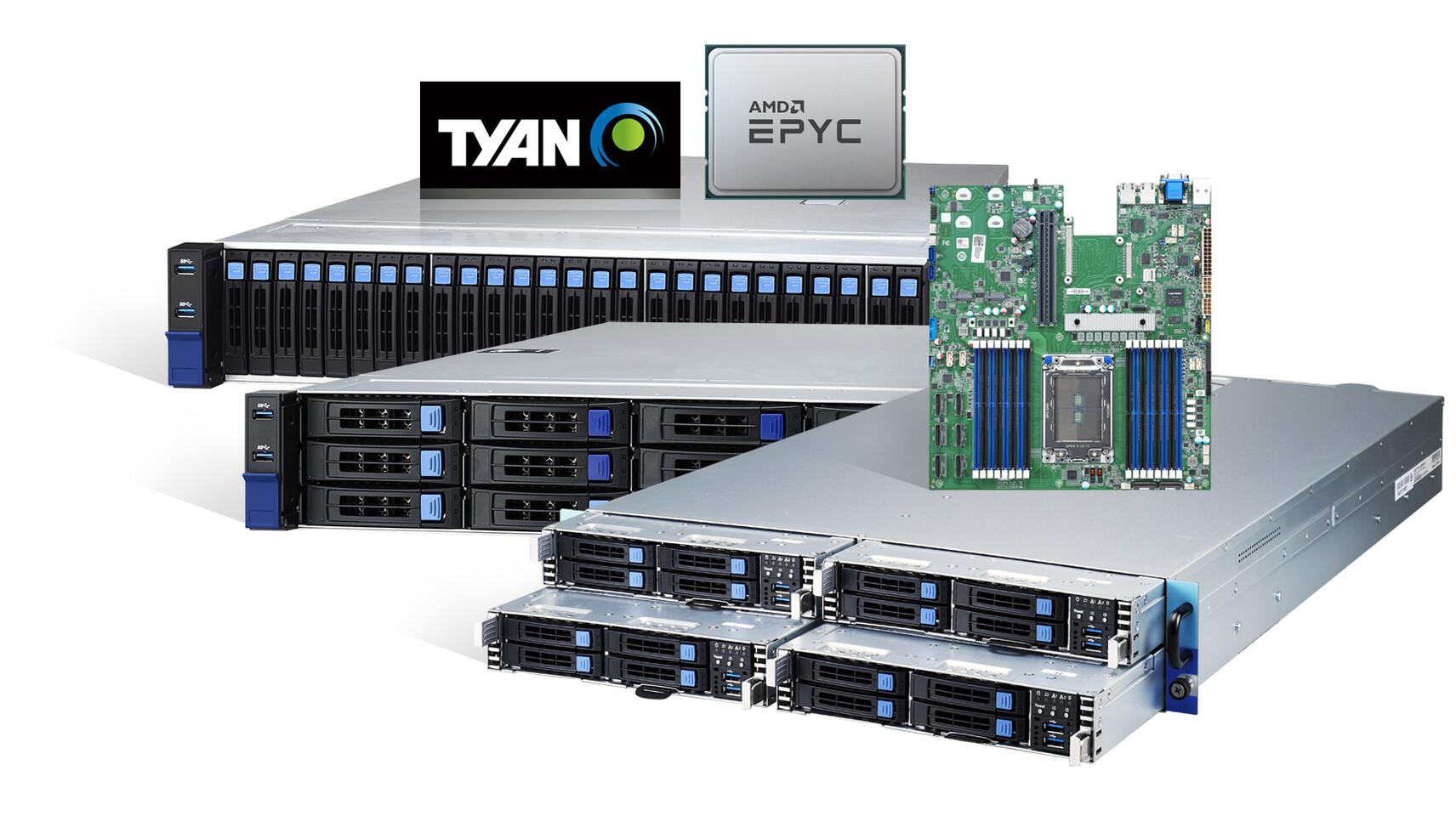 TYAN ahora ofrece sistemas con procesador AMD EPYC 7003
