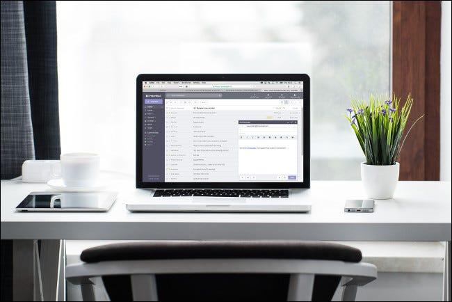 ProtonMail en MacBook