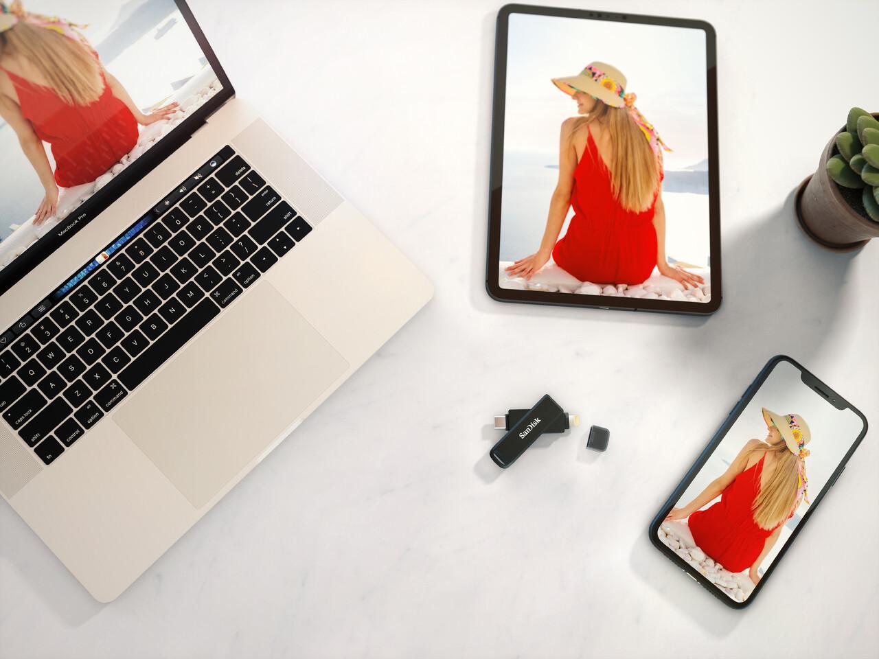 SanDisk presenta su primera unidad flash 2 en 1 para transferencias entre dispositivos iPhone y USB-C