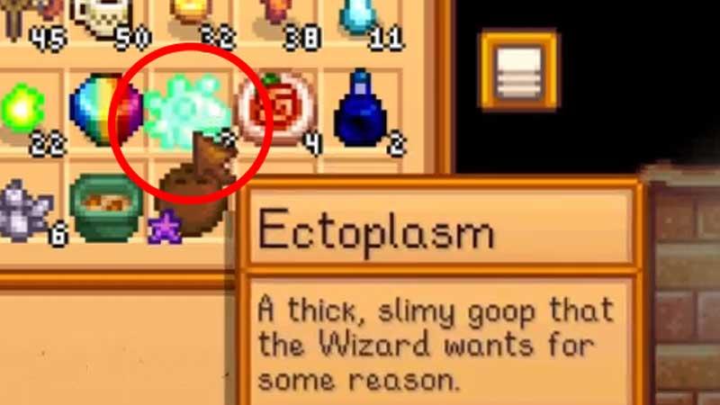 Cómo obtener ectoplasma en Stardew Valley