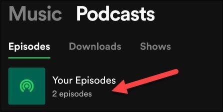 Tu lista de reproducción de episodios