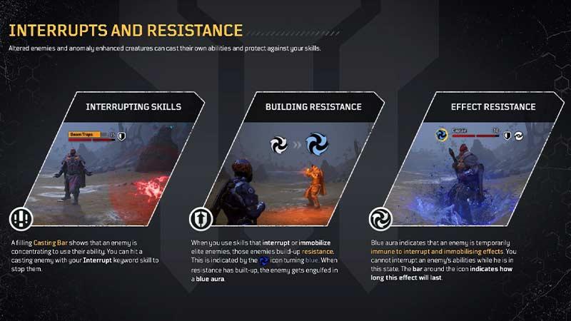 Outriders interrupciones y resistencia
