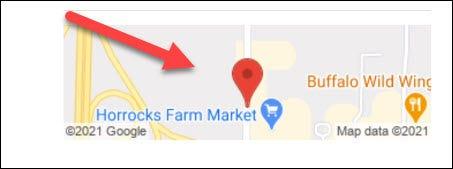 toque para encontrar la ubicación en el mapa