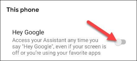 apaga hey google