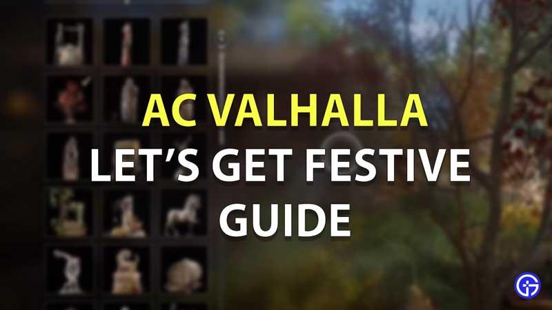 AC Valhalla Consigamos una guía festiva
