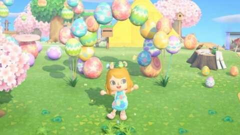 Afortunadamente, el evento del Día del Conejo de Animal Crossing es más corto este año