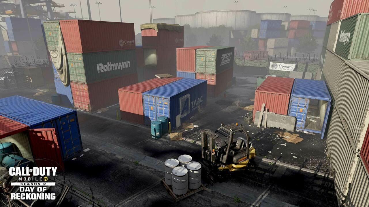 Uno de los mapas más pequeños en la historia de Call of Duty, Shipment, ahora está en COD: Mobile