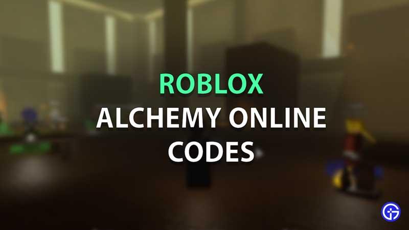 Códigos en línea de Roblox Alchemy