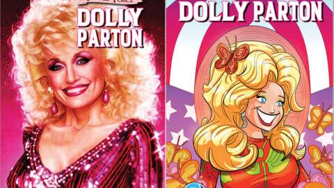 Dolly Parton protagonizará su propio cómic