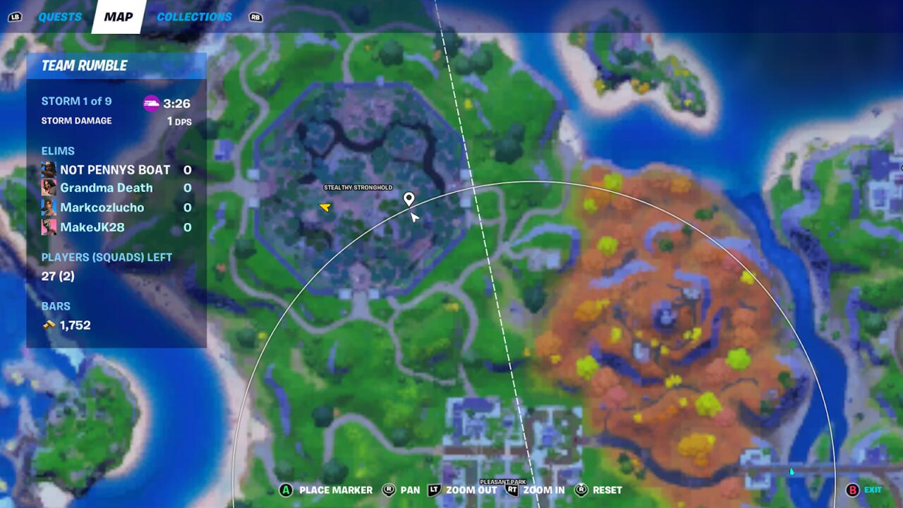 Aquí está la ubicación exacta.