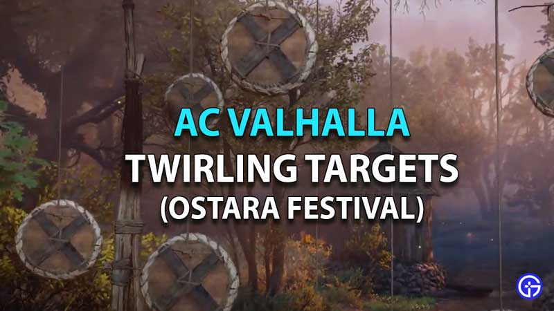Guía de objetivos giratorios del festival AC Valhalla Ostara