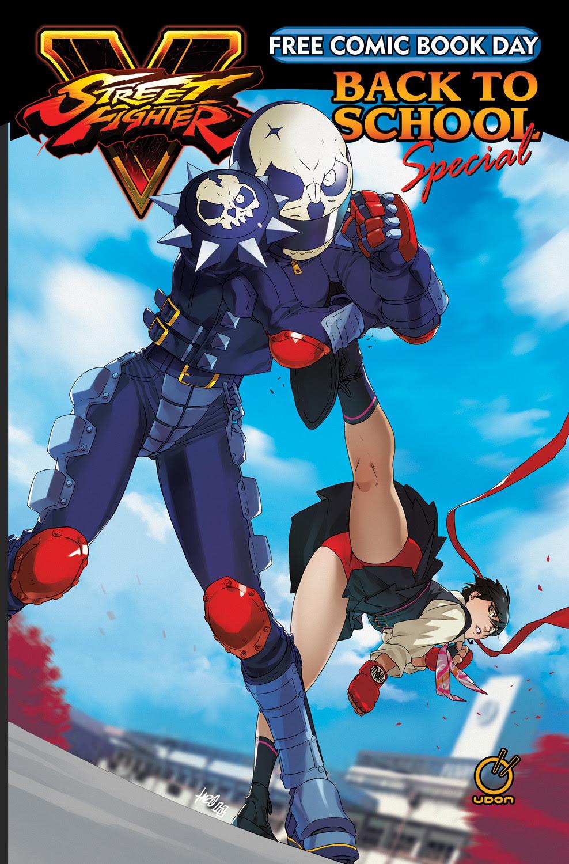 street fighter día libre del cómic edición de akira kazama