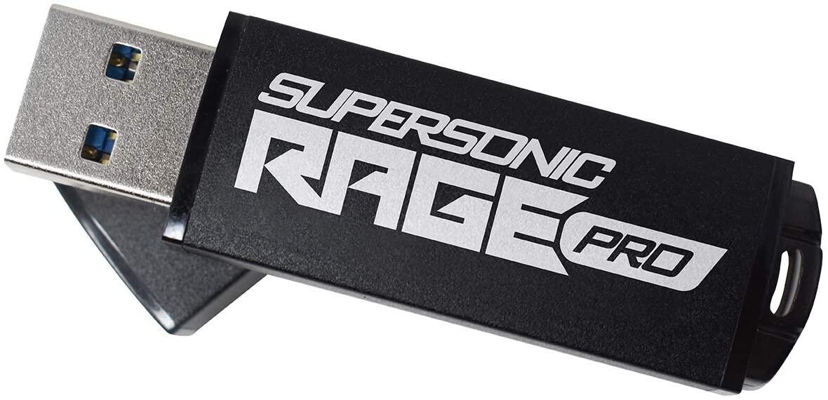 Patriot lanza Supersonic Rage Pro USB 3.2 Gen.1 Flash Drive