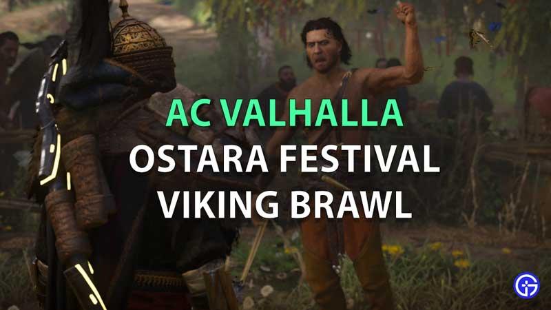 Cómo completar la pelea del festival Ostara