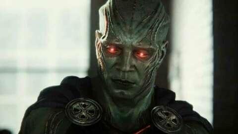 The Snyder Cut: Explicación de las escenas de Martian Manhunter