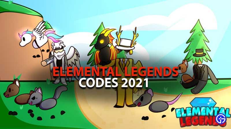 Elemental Legends Codes