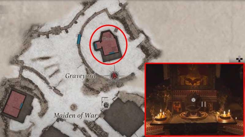 Ubicación de RE Village Maiden Crest
