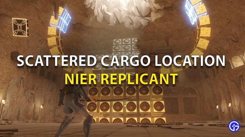 Ubicaciones de carga dispersa de replicantes de Nier