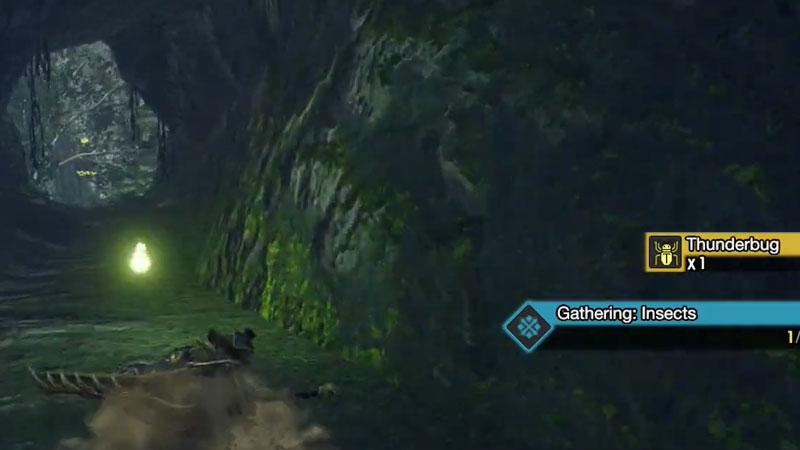 Cómo conseguir Thunderbugs en Monster Hunter Rise