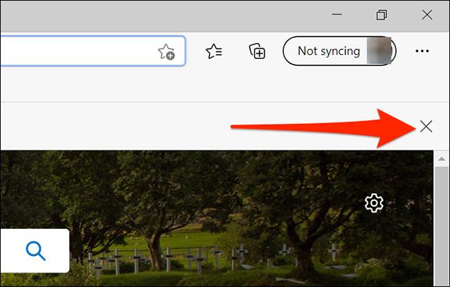 Descartar las notificaciones predeterminadas del navegador de Edge
