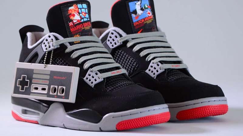 Zapatillas inspiradas en videojuegos