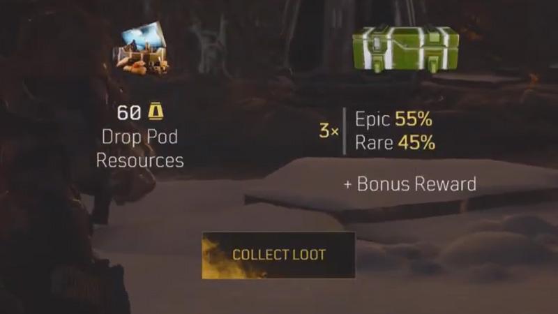 Recursos de Outriders Drop Pod