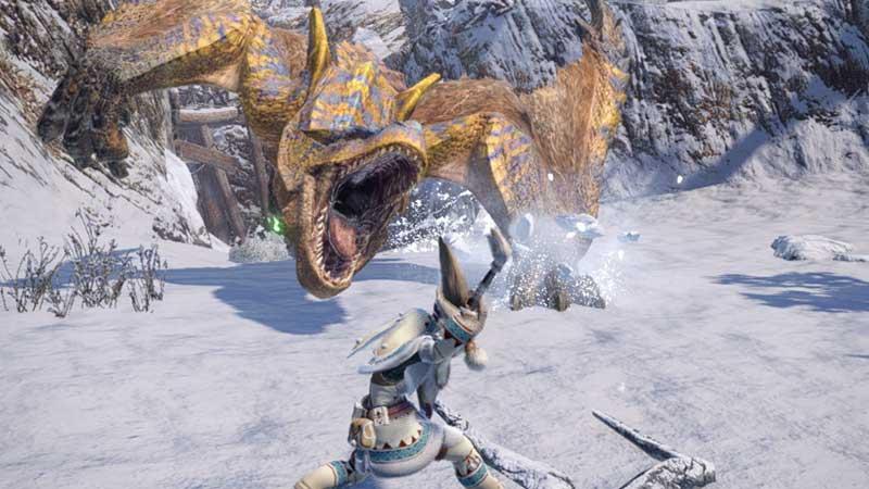 Cómo obtener hueso de dragón anciano en Monster Hunter Rise