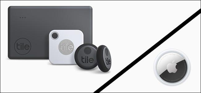 Familia de productos Tile frente a Apple AirTag