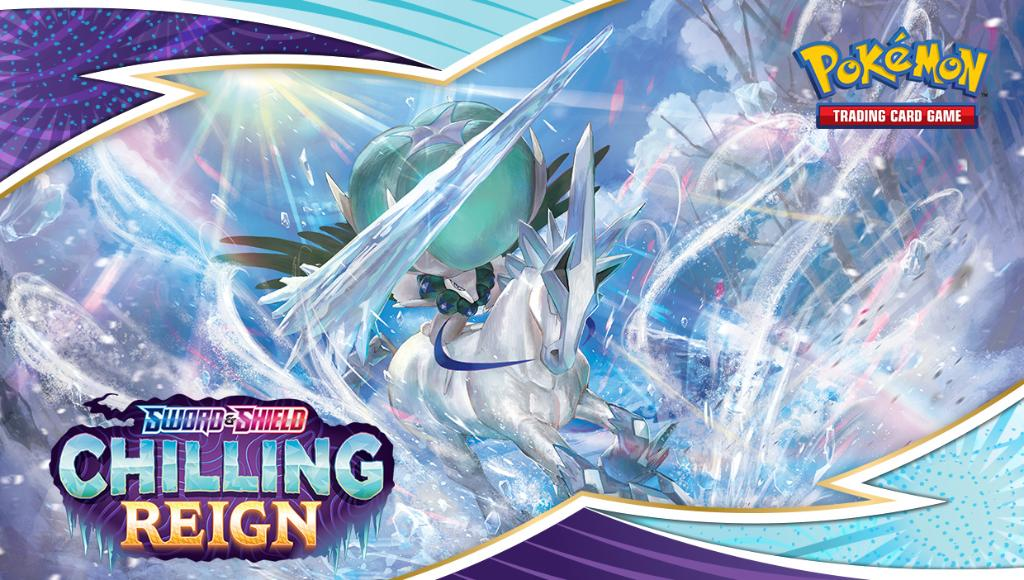 Pokémon TCG Sword & Shield: Se anuncia la expansión Chilling Reign