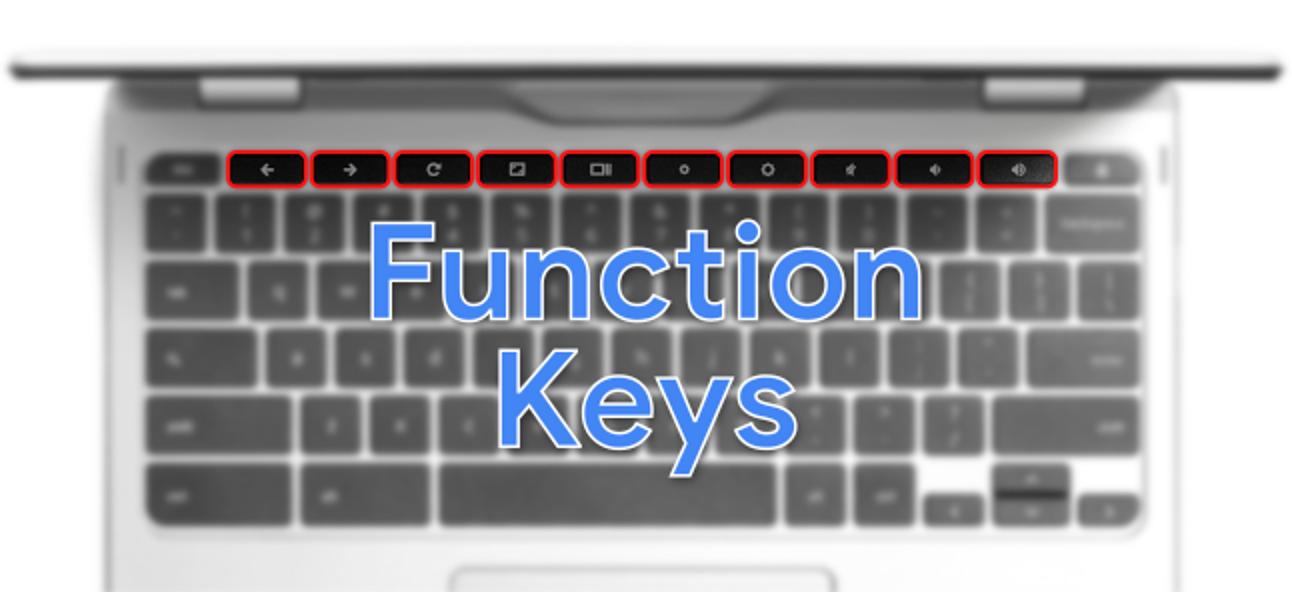 Cómo usar las teclas de función en un teclado de Chromebook