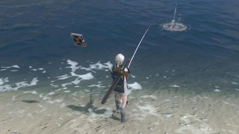 Cómo pescar en el replicante de Nier