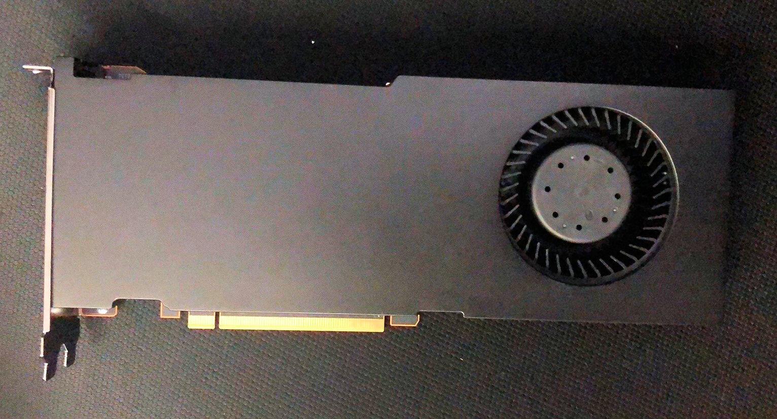 AMD Radeon Pro W6900X con Navi 21 aparece en Apple Mac Pro