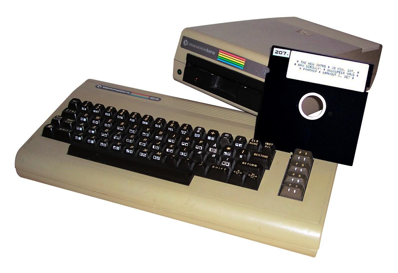 Commodore 64 modificado para minar Bitcoin