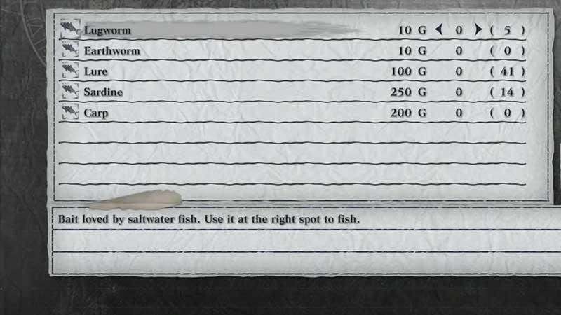 cebo de pez globo lombriz