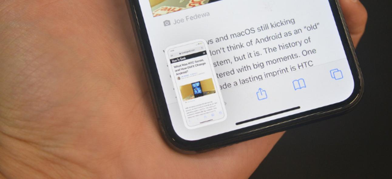 Cómo tomar una captura de pantalla en iPhone sin una vista previa en miniatura