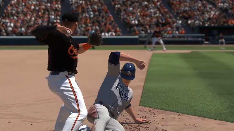 MLB The Show 21: Cómo correr a toda velocidad