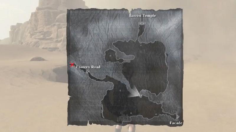 Replicante de mapa Nier