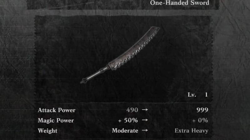 Estadísticas de Kaine Sword