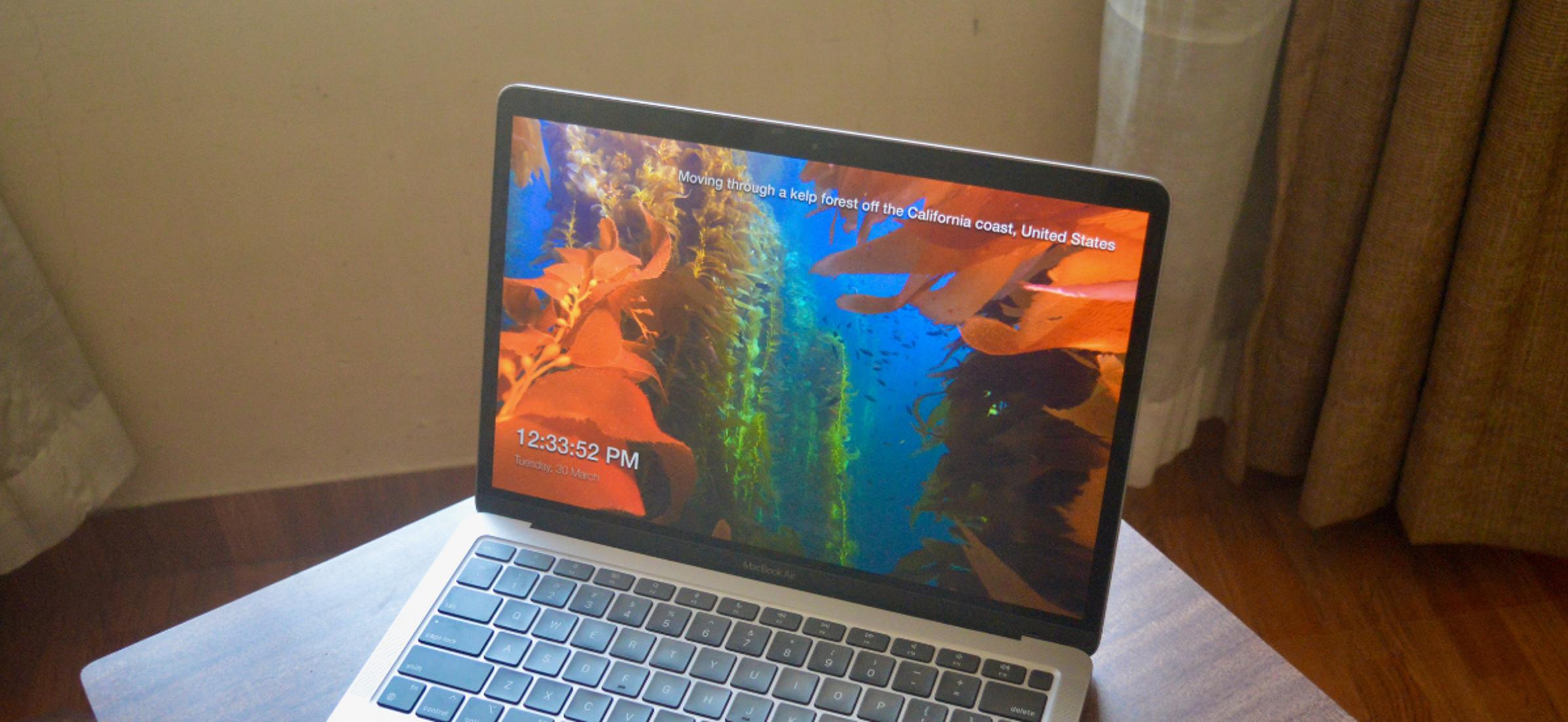 Cómo obtener protectores de pantalla cinematográficos 4K de Apple TV en Mac