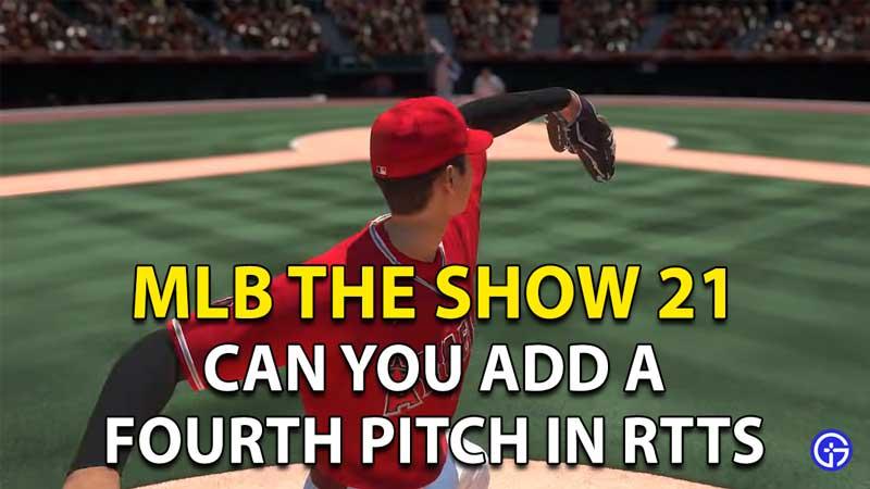 Cómo agregar un cuarto lanzamiento en MLB The Show 21