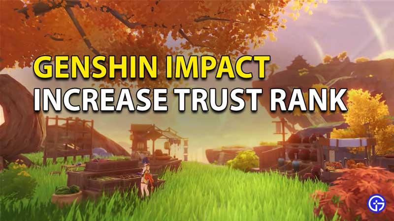 Impacto de Genshin: aumentar el rango de confianza
